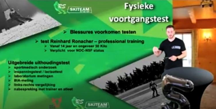 Fysieke voortgangstest met Reinhard Rohnacher